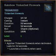 Rainbow Tinkerfest Firework