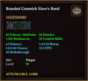 Branded Gnomish Slave's Band