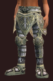 Curate's Plate Greaves of the Battlepriest (Equipped)