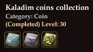 Kaladim coins collection