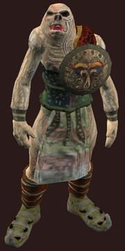 Nights of the Dead Ettin Costume (Equipped)