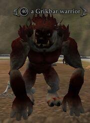 A Grikbar warrior