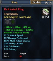 Deft Astral Ring