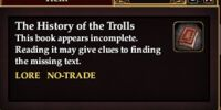 The History of the Trolls (Quest Starter)