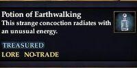 Potion of Earthwalking