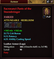 Sacrosanct Pants of the Stormbringer