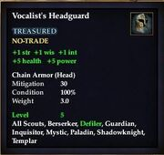 Vocalist's Headguard