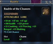 Bauble of the Cleaners