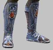 Vesspyr Workman's Blue Boots (Equipped)