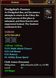 Dredgeleaf's Essence