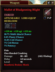 Mallet of Bludgeoning Blight
