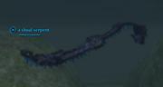 A shoal serpent