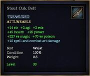Stout Oak Belt