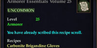 Armorer Essentials Volume 25