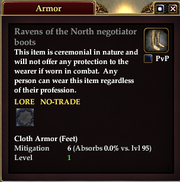 Ravens of the North negotiator boots