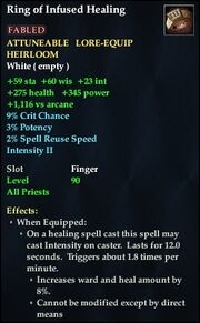 Ring of Infused Healing