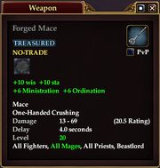 Forged Mace