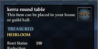 Kerra round table