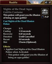 Nights of the Dead Aqua Goblin Costume
