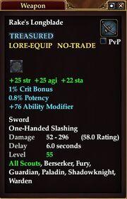 Rake's Longblade