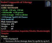 Scaled Legguards of Lituragy