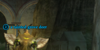 A tainted grove deer