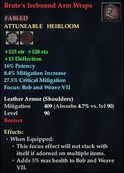 Brute's Irebound Arm Wraps