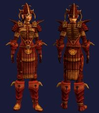 Stormbringer's Sacrosanct (Armor Set) (Visible, Female)