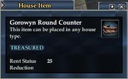 Gorowyn Round Counter