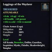 Leggings of the Wayfarer
