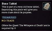Bone Tablet