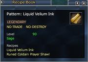 Pattern- Liquid Velium Ink
