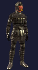 Shadowed armor