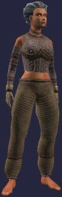 Woven Vulcanized (Armor Set) (Visible, Female)