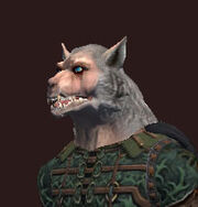 A-snarling-werewolf-mask