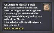 An Ancient Neriak Scroll