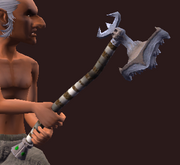 Dregh's Hammer (Equipped)