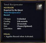 Tonal Reciprocator