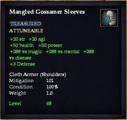 Mangled Gossamer Sleeves