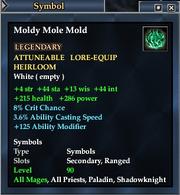 Moldy Mole Mold
