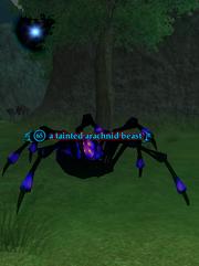 A tainted arachnid beast