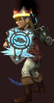 Cryomantic Defender