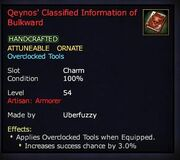 Qeynos' Classified Information of Bulkward