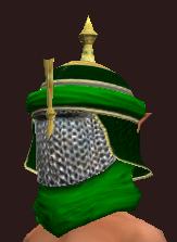 Tranquil Burlap Cap (Equipped)
