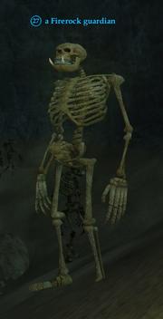 A Firerock guardian