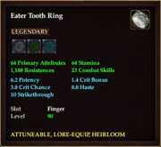 Eater Tooth Ring
