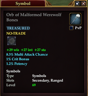 Orb of Malformed Werewolf Bones