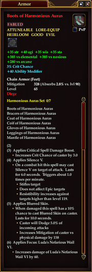 Boots of Harmonious Auras