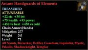Arcane Handguards of Elements