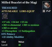 Milled Bracelet of the Magi